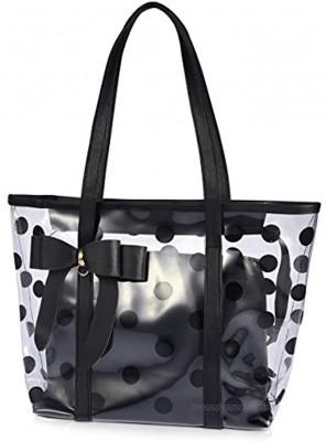 ABLE Women's Clear Tote Bags Multi-Use Shoulder bag Handbag Beach bag Shopping Bag work bag