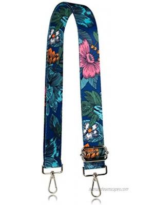 Allzedream Flower Purse Straps Replacement Crossbody Shoulder Bags Wide Adjustable