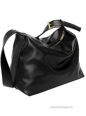 Ayliss Women's Shoulder Handbag Crossbody Purses Messenger Handbag Hobo Tote Bag Fashion Faux Leather Casual Work Handbag