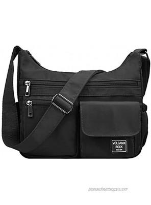 Crossbody Bags for Women RFID Travel Shoulder Bag Waterproof Messenger Bag Casual Nylon purses and handbags Pocketbook