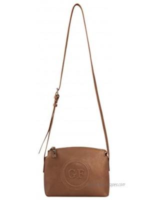 Giorgio Ferretti Comfortable Genuine Leather Crossbody Genuine Leather Crossbody for Women Brown Colour