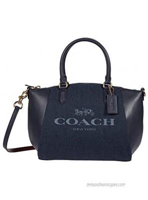 COACH Jacquard Elise Satchel