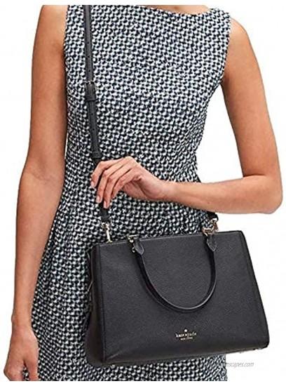 Kate Spade Leila Medium Triple Compartment Satchel Women's Leather Handbag