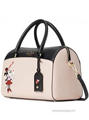 Kate Spade Minnie Mouse Med Duffle Bag WKR00212 Satchel Crossbody Women's Leather Handbag