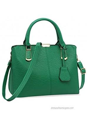 Pahajim Womens Fashion Tote Bag PU Leather Church Handgbags Unique Work Satchel Purse