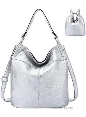 Tote Handbags Crossbody Shoulder hobo Satchel Bag Convertible Backpack Purse Black