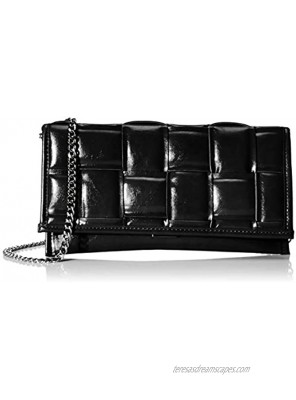 Steve Madden Tangled Clutch with Chain
