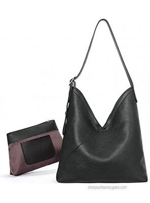 CLUCI Hobo Bags for Women Vegan Leather Purses Designer Handbags Tote Fashion Large Ladies Shoulder Bag