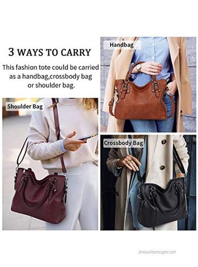 Hobo Bag for Women Tote Bag Shoulder Crossbody Bags Satchel Purses for Women
