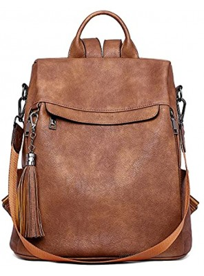 Telena Travel Backpack Purse for Women Convertible Backpack Purse for Women Ladies Shoulder Backpack Bags
