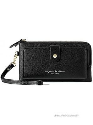 Aeeque Wristlet Phone Wallets for Women Cell Phone Bag Coin Purse Card Wallet