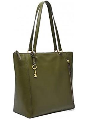 Fossil Women's Tara Leather Shopper Tote Purse Handbag