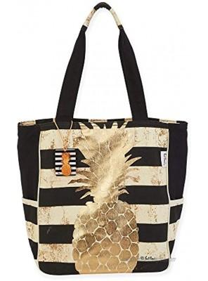 Paul Brent Gold Coast Stripe Shoulder Tote Beach Bag 1050