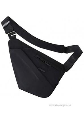 ADORENCE Anti-Thief Sling Bag Slim Lightweight & Water Resistant CrossBody Shoulder Bag Chest Bag
