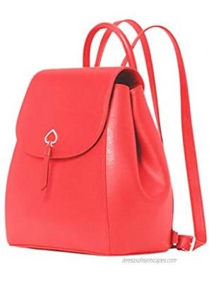 Kate Spade Adel medium flap Leather Backpack Geranuim 857