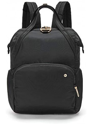 PacSafe Women's Citysafe CX 17L Anti Theft Backpack-Fits 16 inch MacBook Pro Black One Size