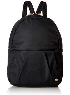 PacSafe Women's Citysafe CX Anti Theft Convertible Backpack-Fits 10 Tablet Black 8 Liter