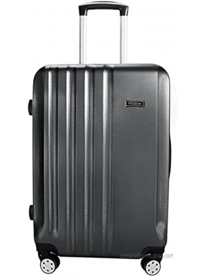 """28"""" Expandable Suitcase Hardside Carry On Trunk Case Rolling Wheels Travel Case"""
