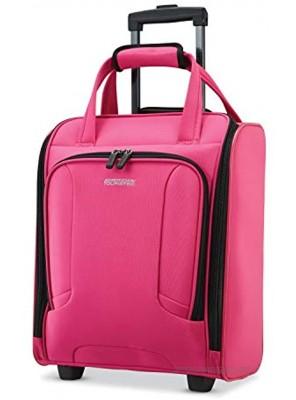 American Tourister 4 Kix Expandable Softside Luggage Pink Underseater
