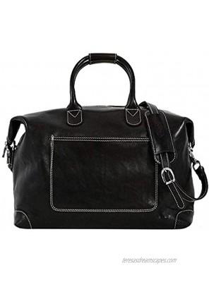 Floto Chiara Travel Bag in Full Grain Calfskin Leather