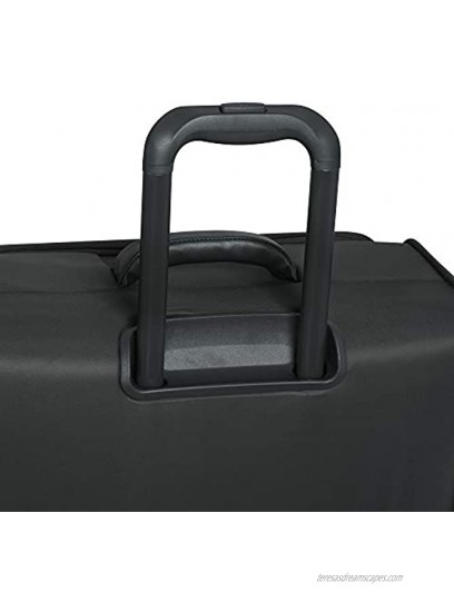 it luggage Lustrous Lightweight Expandable Spinner Wheels Charcoal Checked-Medium 28-Inch