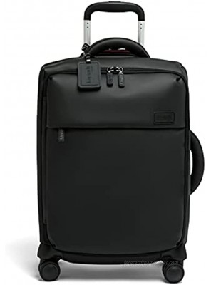 Lipault Lost in Berlin Carry-On Cabin Suitcase Spinner Luggage for Women Black