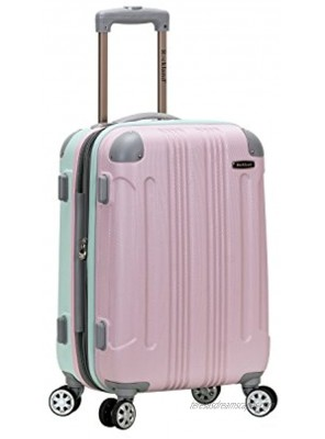 Rockland London Hardside Spinner Wheel Luggage Mint Carry-On 20-Inch