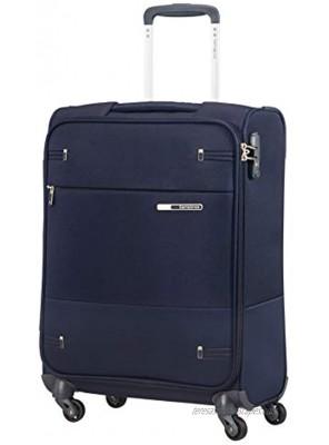 SAMSONITE Base Boost Spinner 55 20 Hand Luggage 55 cm 39 liters Blue Navy Blue