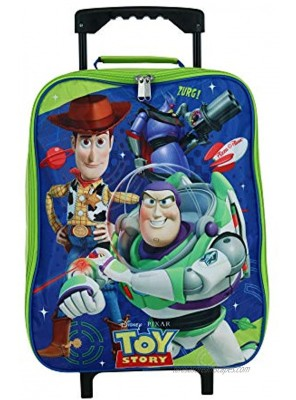 """Toy Story 15"""" Collapsible Wheeled Pilot Case Rolling Luggage"""