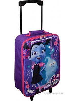 "Vampirina 15"" Collapsible Wheeled Pilot Case Rolling Luggage"