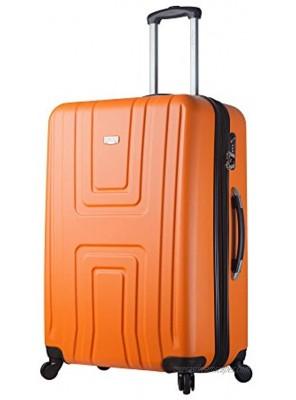 Viaggi Mia Italy Ferrara Hardside 30 Inch Spinner-Orange One Size