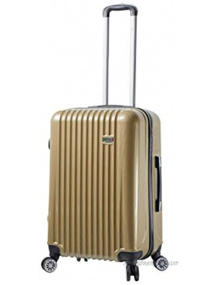 Viaggi Mia Italy Lucca Hardside 24 Inch Spinner Champagne One Size