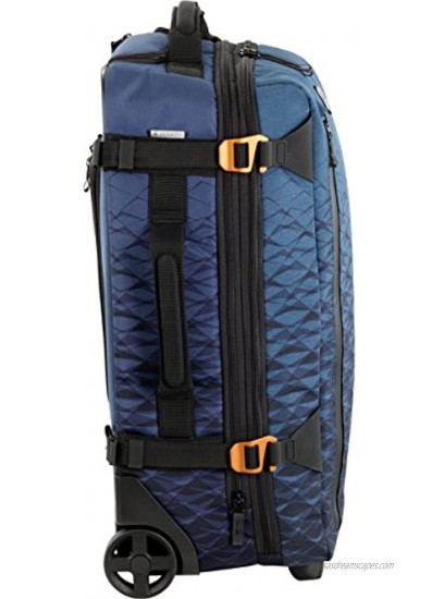 Victorinox VX Touring 2-in-1 Softside Upright Luggage Dark Teal Carry-On Frequent Flyer 22.4