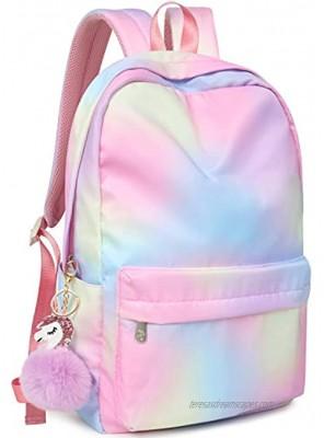 Backpack for Girls FITMYFAVO School Book bags Girls Backpacks for Elementary College Women Laptop Backpacks