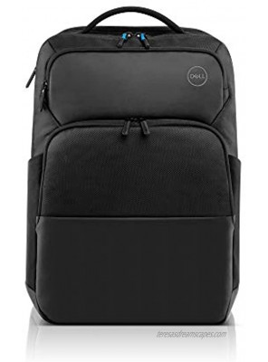 Choose Dell Pro Backpack 17 PO1720P Made with a More Earth-Friendly Solution-Dyeing Process Than Traditional Dyeing processes and Shock-Absorbing EVA Foam That Protects Your Laptop from Impact.