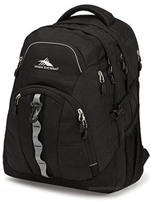 High Sierra Access 2.0 Laptop Backpack Black One Size