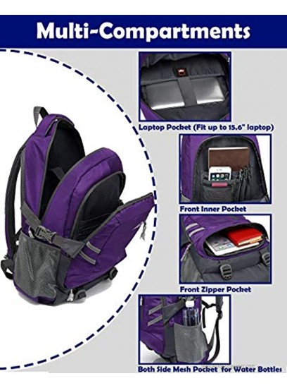 Travel Laptop Backpack School College Computer Bag Business Anti Theft with USB Charging Port