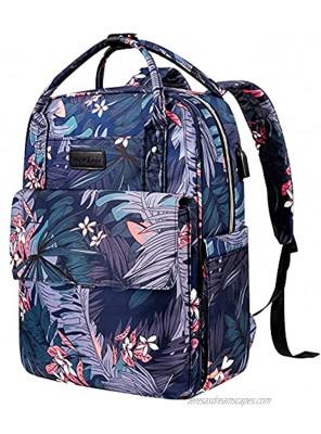 VANKEAN 15.6 Inch Stylish Laptop Backpacks for School Backpack with USB Port Water-repellent Back Pack College Laptop Bag Backpack for Women Daypack Travel Business Work Bag