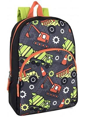 15 Inch Backpack for Boys Girls Kids Backpacks for Preschool Kindergarten Elementary with Adjustable Padded Straps