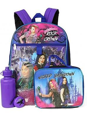 Descendants 3 School Backpack 5 Piece Set
