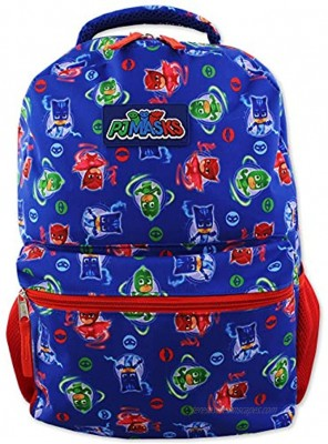 Disney PJ Masks Boy's 16 inch School Backpack One Size Blue