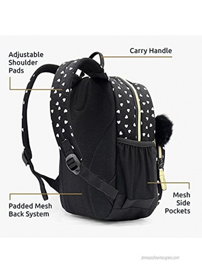KAL-GAV Panda Toddler Backpack Ages 2-5 – Fun 13 In. Preschool Backpack for Girls and Boys Has Comfortable Adjustable Straps and Mesh Bottle Pocket – Carry School Supplies Lunch Bag and More