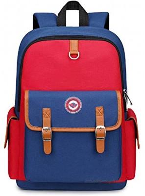 Kids Backpack Children Bookbag Preschool Kindergarten Elementary School Bag for Girls Boys14182 small red