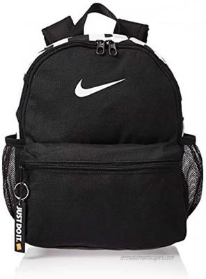 Nike Brasilia just Do It Backpack mini Black Black Glossy White Misc