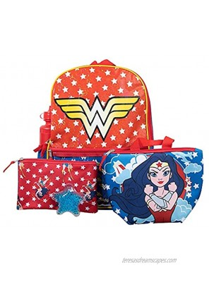 Youth Wonder Woman 5 PC Backpack