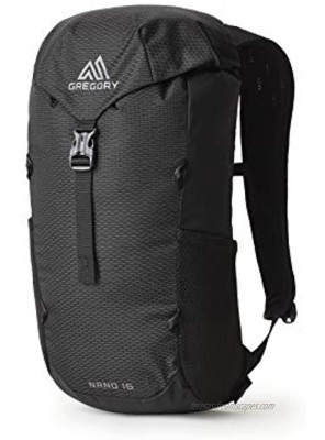 Gregory Mountain Products Nano 16 Everyday Outdoor Backpack Obsidian Black one Size