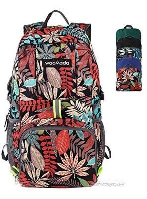 Packable Hiking Backpack WOOMADA 35L 40L Lightweight Water Resistant Nylon Backpack Outdoor Travel Hiking Daypack