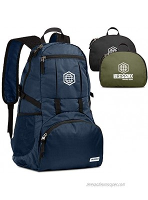 Travel Backpack- Packable lightweight daypack for hiking gym and airplane