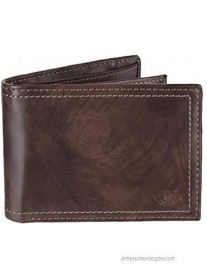 Dockers Men's Leather Traveler Wallet