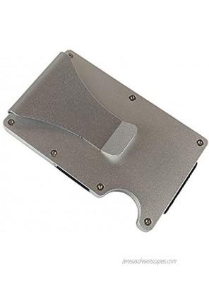Pocket Wallet RFID Blocking Minimalist Wallet Slim Wallet Money Clip